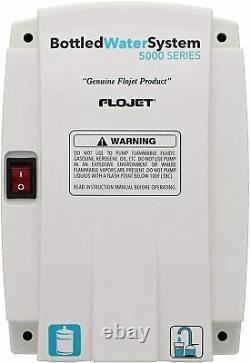 Flojet Série 5000 Système D'eau Embouteillée Avec Entrée Unique 115v Plug New In Box