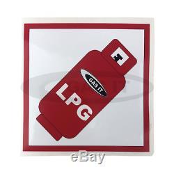 Gas It Bouteille De Gaz Rechargeable De 6 Kg, Comprenant Le Système De Point De Remplissage Interne Easyfit