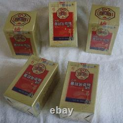 Gros! Extrait De Ginseng Rouge Coréen Racine 6 Ans 100% (240g5bottles)