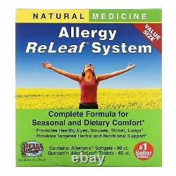 Herbes Etc, Système De Releaf Allergique, 2 Bouteilles, 60 Softgels/tablettes