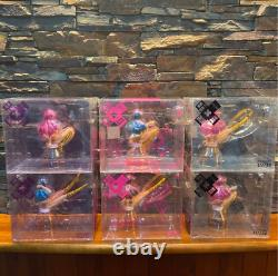 Kaiyodo Bome System Service Dream Urusei Yatsura Bouteille Figure Lot De 6 + Cas