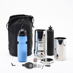 Kit Go Berkey + Bouteille Sport + Primer Berkey Système De Filtration D'eau Berkey D'origine