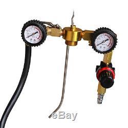 Kit Professionnel Gs01 De Système De Testeur D'outil De Bouteille De Buse De Nettoyeur D'injecteur De Carburant De Voiture Professionnelle