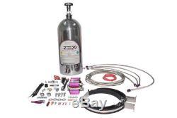 Kit Système Azote Pour Zex Pour Kit Mouillé Chevy Ls1 Avec Bouteille Polie 82026p
