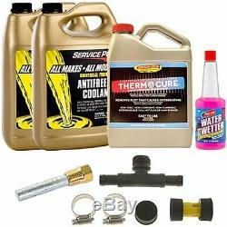 Le Kit De Maintenance Du Système De Refroidissement Evapo-rust Tc001k Comprend (1) Une Bouteille Thermo De 32 Oz