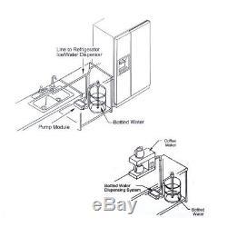 Le Système De Pompe De Distribution D'eau En Bouteille Ca 220v Flojet Bw2000a Remplace Bunn Nouveau