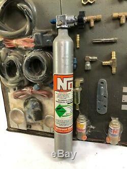 Les Systèmes D'oxyde Nitreux De Harley 03011-oz Ligne De Contact De La Course De La Bouteille De Kit