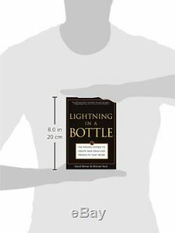 Lightning Dans Une Bouteille Prouvée Système Pour Créer De Nouvelles Idées Et Par David Minter Vg +