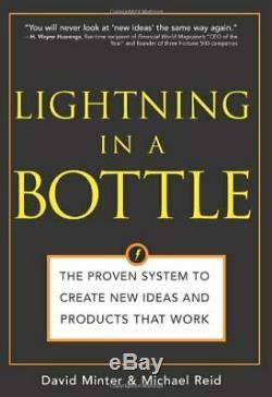 Lightning Dans Une Bouteille Prouvée Système Pour Créer De Nouvelles Idées Et Par Michael Reid Vg +