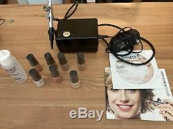 Luminess Air Airbrush Makeup Icon Système Stylus Kit. + 7 Bouteilles Scellées