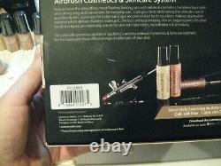 Luminess Airbrush System & Makeup Bouteilles & Primer 8 Bouteilles Brand New Pc-200r