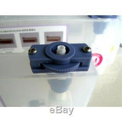 Masse Continue Du Système D'encre Ssci Dx5 Pour Mutoh Rj-900 4 Cartouches 4 Bouteilles