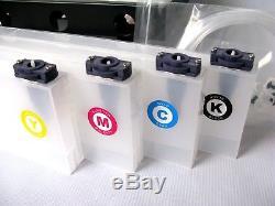 Mimaki Jv33 / Cjv30 / Jv5 Système D'encre En Vrac Continu Ciss Dx5-4 Flacons 4