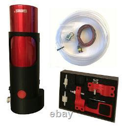 Motorsport Drink System 12v Bouton Poussoir Aluminium Casque De Bouteille Plug Cage Mount