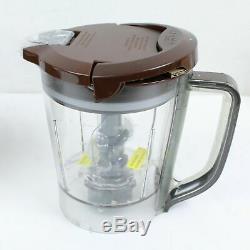 Ninja Cuisine Système Pulse 700w Chocolate Blender Brown 48 Oz Bl207 Complet