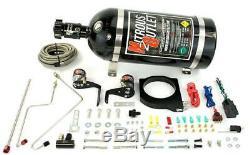 Nitrous Outlet 102mm Fast Intake Plaque Dur Doublée Système (bouteille)