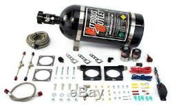 Nitrous Outlet 92-02 Dodge Viper Système Hardline Plate (70-200hp) (bouteille De 10lb)