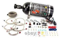 Nitrous Outlet Import Efi Dual Nozzle System (bouteille De 10 Lb)