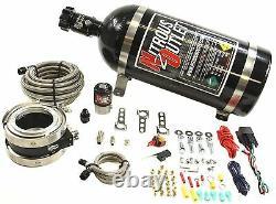 Nitrous Outlet Interspooler 3 Dry Turbo Nitrous System (bouteille De 10 Lb)
