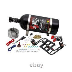 Nitrous Outlet Race Gen 4 4500 Stinger System Avec Boomerang Bracket (bouteille De 10 Lb)
