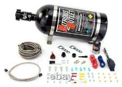 Nitrous Outlet Universal Single Nozzle Dry System (bouteille De 10 Lb)