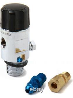 Nitrous Oxide Systems Nos Bouteille Valve, Mini-flo Salut, Convient 1.0 Lbs, (16145nos)