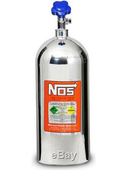 Nitrous Oxide Systems Nos Nitrous Bouteille 10 Lb, (poli) 21, X (14745-pnos)