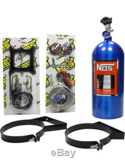 Nitrous Oxide Systems Nos Powershot, Humide, 125 Ch, 10 Lb Bouteille, Blu (05001nos)