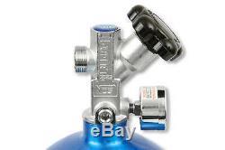 Nos Cheater Nitrous Système Convient Holley 4 Bbl / Carter Afb Avec Bleu 10 Lb Bouteille