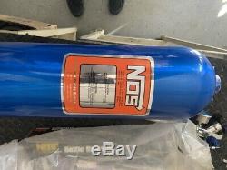 Nos Nitrous Oxide Système 14750 15lbs Bouteille 16340 High Flow Valve