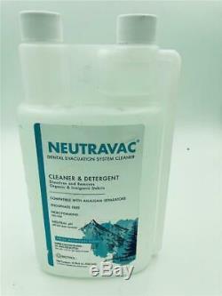 Nouveau Biotrol Neutravac Cleaner Dentaire Système D'évacuation Bouteille 32oz Concentré