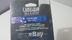 Nouveau Camelbak Tout Effacer Bouteille Pré-filtre Pour Le Système Uv Purificateur D'eau 90785