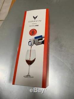 Nouveau Coravin Bouteille De Vin Ouvre Pourer Conservation Système Model One 1 Blanc
