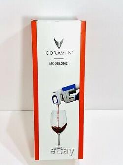 Nouveau Coravin Décapsuleur Pourer Conservation Système Model One 1 Blanc