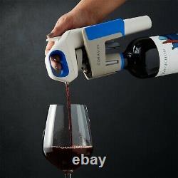 Nouveau Coravin Wine Bottle Opener Pourer Preservation System Model One 1 Blanc