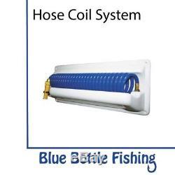 Nouveau Deckwash System Hose Coil System - Montage Horizontal De Blue Bottle Marine