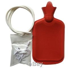 Nouveau Lavement Kit Avec Sac Bouteille D'eau Chaude Et Tubes Annexes Douche 2l