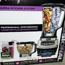 Nouveau Ninja Food Processor Supra Kitchen System Bl780