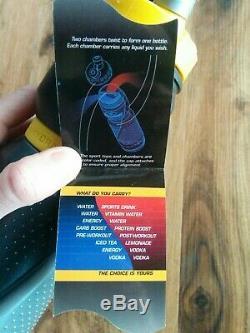 Nouveau Swigz Equilible Double Système D'hydratation Deux Boissons Dans Une Bouteille