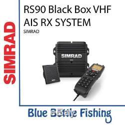 Nouveau Système Ais Rx Vhf Simrad Rs90 Black Box De Blue Bottle Marine