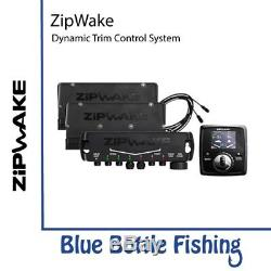 Nouveau Système De Contrôle De Trim Dynamique Kb750-s De Zipwake De Blue Bottle Marine