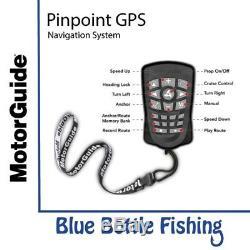 Nouveau Système De Navigation Gps Motorguide Pinpoint De Blue Bottle Marine