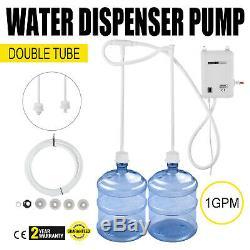 Nouveau Système De Pompe De Distribution D'eau Embouteillée Distributeur D'eau Double Tubes 1gal 40psi