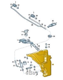 Nouveau Véritable Audi A4 A5 Rs4 Rs5 Pare-brise Bouteille D'eau Laveuse 8t0955453c