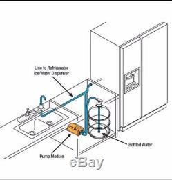 Nouvelle Pompe De Distribution Ac Eau Embouteillée Système Remplace Bunn Flojet -am
