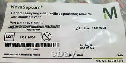 Novaseptum Systèmes D'échantillonnage Multiples Stériles 5 Port 60 ML Bouteilles 1874-80060 C5s2