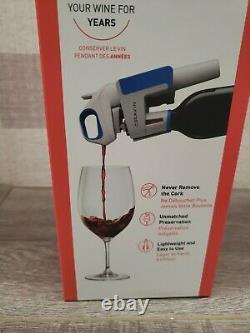 Nrfb Coravin Wine Bottle Opener Pourer Preservation System Model One 1 Bleu