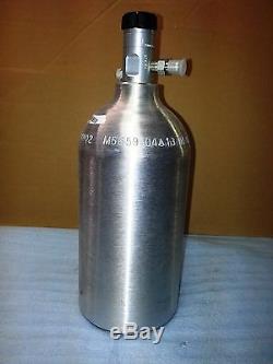 Nx N ° Nitrous Oxide Bouteille Réservoir 2,5 Livre Lb Dragbike 14720 11025