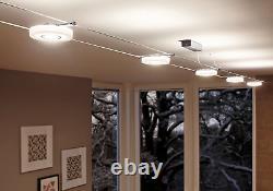 Paulmann 941.09 Discled1 Système De Fil Spot Lights Tension Wire Set Éclairage Avec
