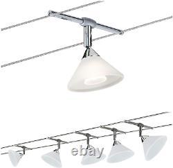 Paulmann 941.36 Sheela Led Wire System Spot Lights Tension Wire Lighting Set 6